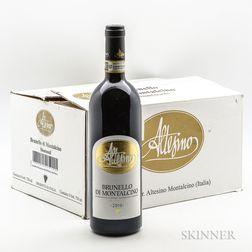 Altesino Brunello di Montalcino Montosoli 2010, 6 bottles (oc)