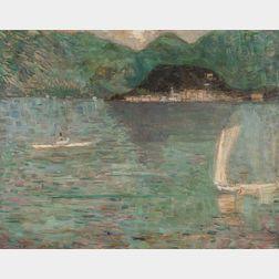 Eugène Laurent Vail (American/French, 1857-1934)      Bellagio