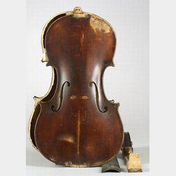 American Violin, M. Potvin, Woonsocket, 1917