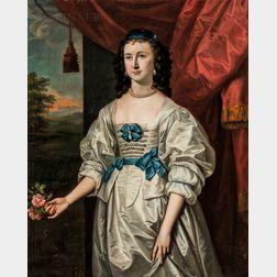 Thomas Hudson (British, 1701-1779)      Portrait of Mrs. Richard Ray (née Elizabeth Lock, 1750-1815)