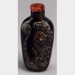 Horn Snuff Bottle