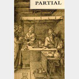 Lot of Four Old Master Prints Including Works By:    Albrecht Durer (German, 1471-1528), Hendrik Goltzius (Flemish, 1558-1616)