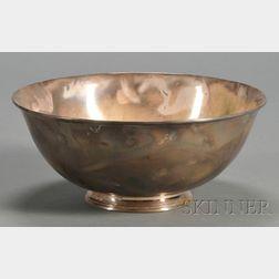 Arthur Stone Associated Sterling Fruit Bowl