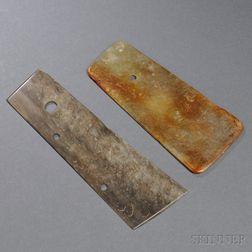 Two Stone Blades