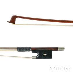 Nickel Silver-mounted Violin Bow