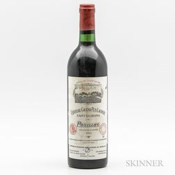 Chateau Grand Puy Lacoste 1982, 1 bottle