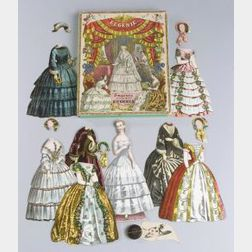 Eugenie und Hire Garderobe (Eugenia and Her Wardrobe) Boxed Paper Doll Set