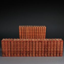 Decorative Bindings, Thirty-four Volumes: