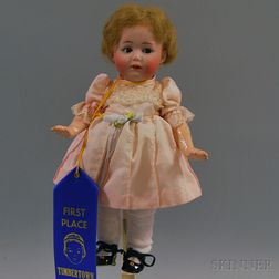 Small Gebruder Heubach Bisque Head Toddler Girl