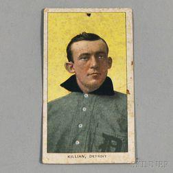 Ed Killian Detroit Tigers 1909-1911 Sweet Caporal Cigarettes Baseball Card