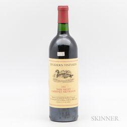 Duckhorn Cabernet Sauvignon 1982, 1 bottle