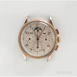 Universal Geneve Tri-Compax Reference 42201 Wristwatch