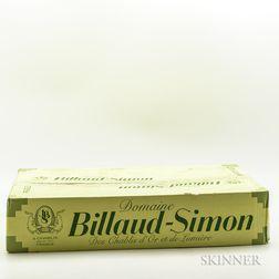 Billaud Simon Les Clos 2013, 6 bottles (oc)