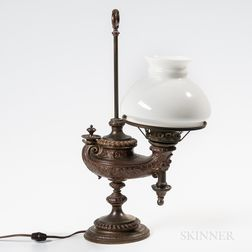 Bronze Astral Lamp