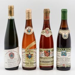 Mixed German Wines, 4 bottles