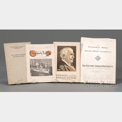 Four Edison-related Publications