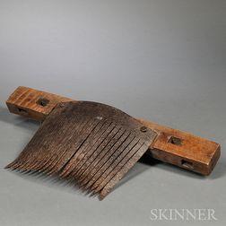 Metal and Wood Thrasher
