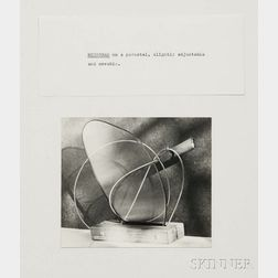 Man Ray (American, 1890-1976)      Monogram