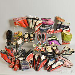 Twenty-eight Pairs of Chanzu   Women's Shoes