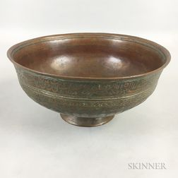 Tinned-copper Bowl