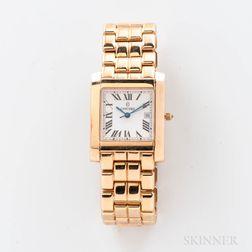 Concord 14kt Gold Tank-style Quartz Wristwatch