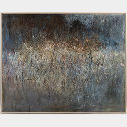 Dan Wingren (American, 1923-1998)      Gray Meadow.