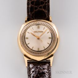 Bulova Asymmetrical 14kt Gold Accutron Wristwatch