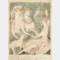 Marie Laurencin (French, 1883-1956)      Le Concert