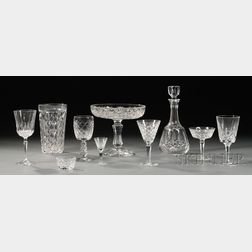 Large Assorted Group of Crystal Tableware