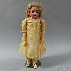 Simon & Halbig Bisque Socket Head Girl Doll