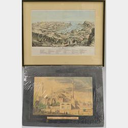 Two Works: Mosque of St. Sophia, Constantinople   and The Siege of Sebastopol.