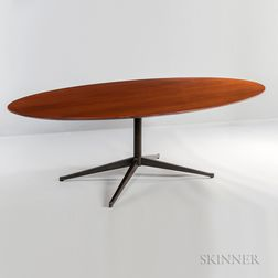Knoll Walnut Dining/Conference Table