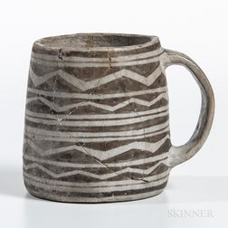 Mesa Verde Black-on-white Mug