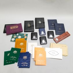 Group of World Coin Sets