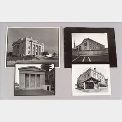 Four Photographs Depicting U.S. County Courthouses