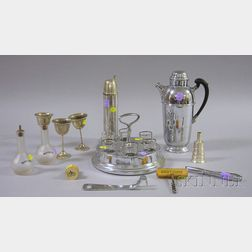 Group of Assorted Barware and Drinkware