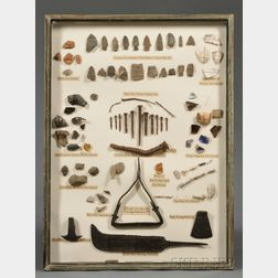 Collection of Revolutionary War Fragments and Artifacts