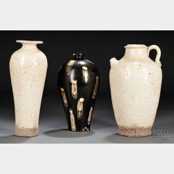 Three Stoneware Items