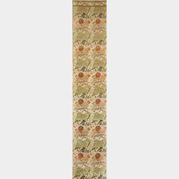 Silk Brocade Obi Fabric