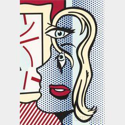 Roy Lichtenstein (American, 1923-1997)      Art Critic