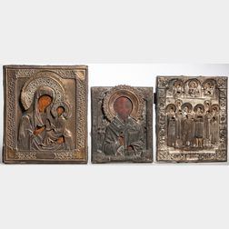 Three Russian Icons