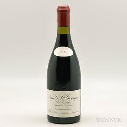 Leroy Nuits St. Georges Les Boudots 2005, 1 bottle