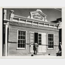 Walker Evans (American, 1903-1975)       Aug. Reuter Hardware Store, Louisiana