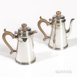 Two Pieces of Elizabeth II Sterling Silver Tableware