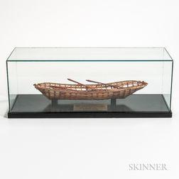 Model Eskimo Boat