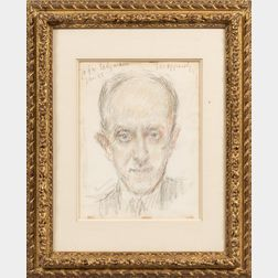 Joseph (Josef) Oppenheimer (German/Canadian, 1876-1966)      Portrait of a Man