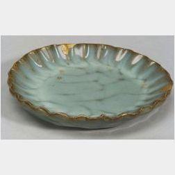Fluted Saucer Dish