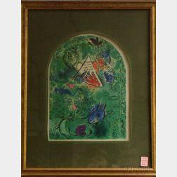 After Marc Chagall (Russian/French, 1887-1985)      Le Plafond de l'Opera de Paris, frontispiece