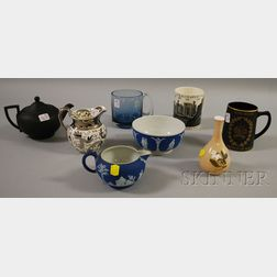 Seven Pieces of Miscellaneous Wedgwood Ceramics