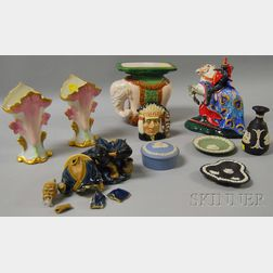 Ten Pieces of Assorted Collectible and Decorative Ceramics